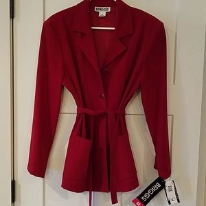 Christmas Red Blazer
